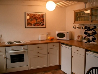 Cornish holiday cottage accommodation details for Modern zion kitchen